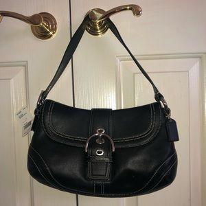NWT Coach black handbag 🖤 genuine leather❗️